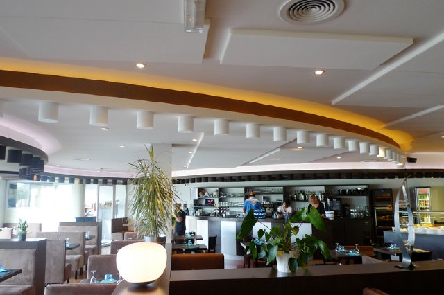 Absorber Rondo pintat Restaurant 3