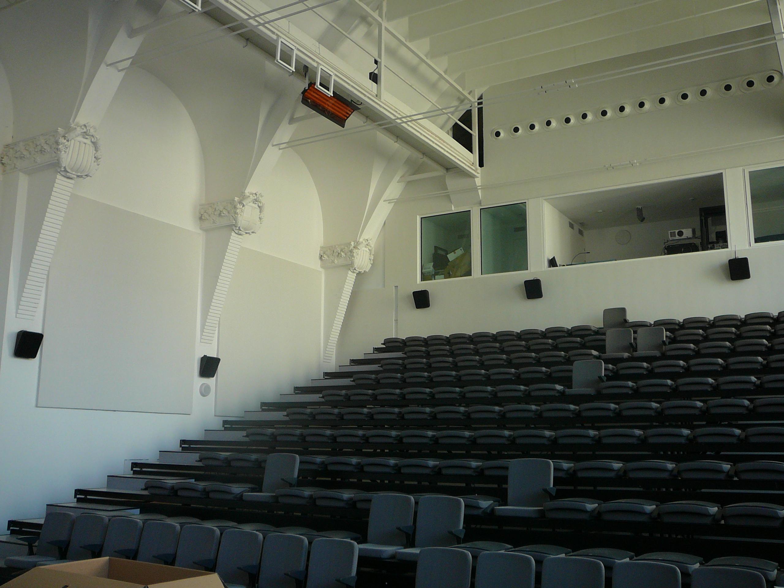 Sala Teatre pinta phonestop V + pinta absorber plano 4