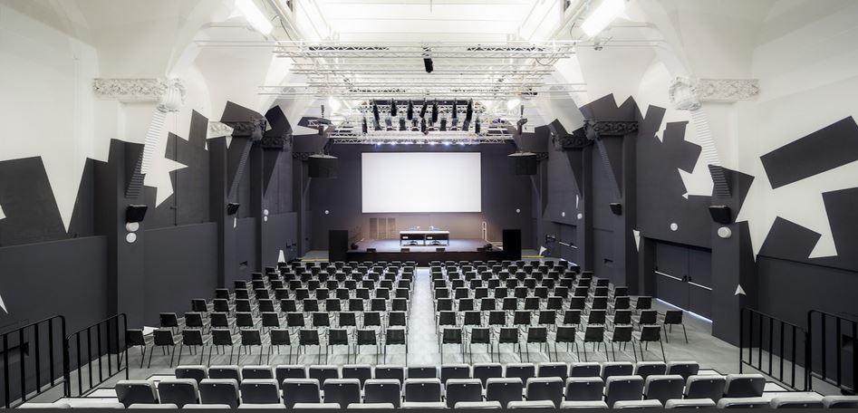 Sala Teatre pintada